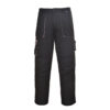 Portwest Texo Contrast Work Trousers TX11 Black