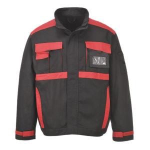 Portwest Texo Krakow Cotton Jacket CW10 Black