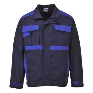 Portwest Texo Krakow Cotton Jacket CW10 Navy Blue