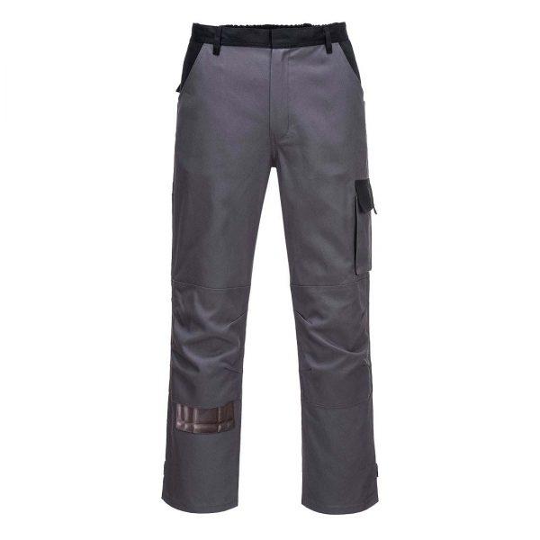 Portwest Texo Poznan Cotton Trousers CW11 Grey