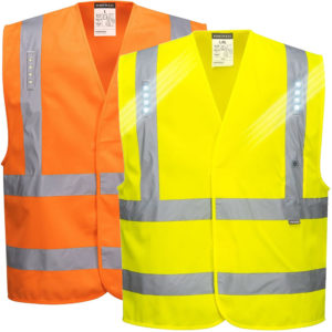 Portwest Vega LED Hi Vis Vest