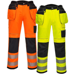 Portwest Vision Hi-Vis Trousers T501
