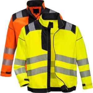 Portwest Vision Hi-Vis Work Jacket T500