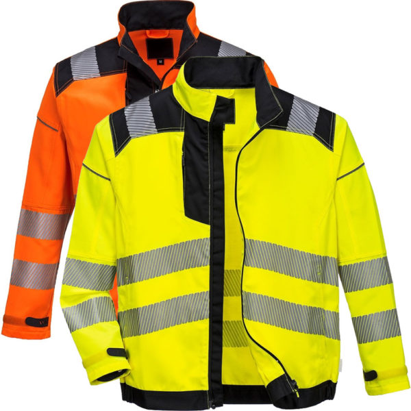 Portwest Vision Hi-Vis Work Jacket T500