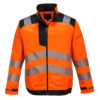 Portwest Vision Hi-Vis Work Jacket T500 Orange