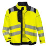 Portwest Vision Hi-Vis Work Jacket T500 Yellow