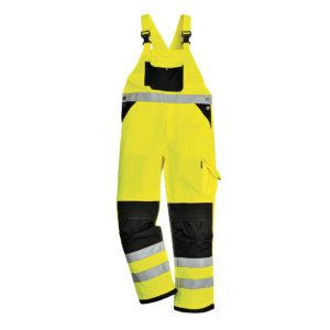 Portwest Xenon Hi-Vis Bib & Brace Overalls KS62