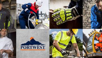 Portwest Clothing Link Footer