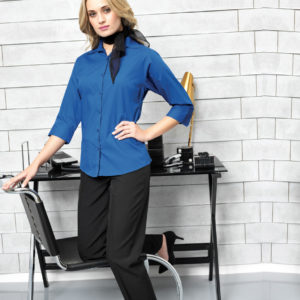 Premier-Ladies-34-Sleeve-Poplin-Blouse-PR305.jpg