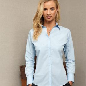 Premier Ladies Supreme Long Sleeve Poplin Shirt PR307