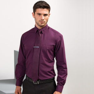 Premier Long Sleeve Poplin Shirt PR200
