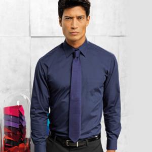 Premier Long Sleeve Poplin Shirt PR200
