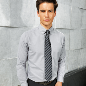 Signature Long Sleeve Oxford Shirt PR234 Premier
