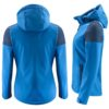 Printer Prime Ladies Sustainable Softshell Jacket Back and Side