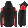 Printer Prime Sustainable Softshell Jacket Back and Side View