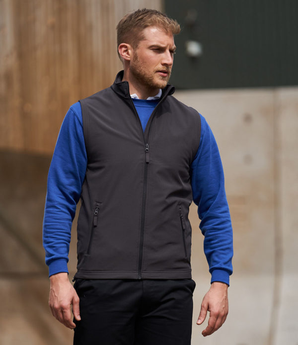 Pro RTX Pro Two Layer Softshell Gilet RX550