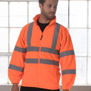 RTY Hi-Vis Fleece Jacket HV72