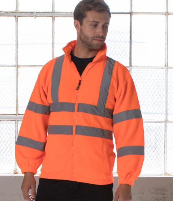 RTY Hi-Vis Fleece Jacket HV72