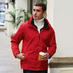 Regatta Classic 3-in-1 Jacket TRA150 Red