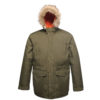 Regatta Classic Waterproof Parka Jacket TRA300 Dark Khaki