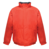 Regatta Dover Waterproof Insulated Jacket TRW297 Red Navy Blue