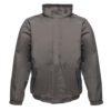 Regatta Dover Waterproof Insulated Jacket TRW297 Seal Grey Black New