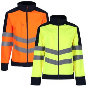 Regatta Hi-Vis Pro Softshell Jacket TRA625