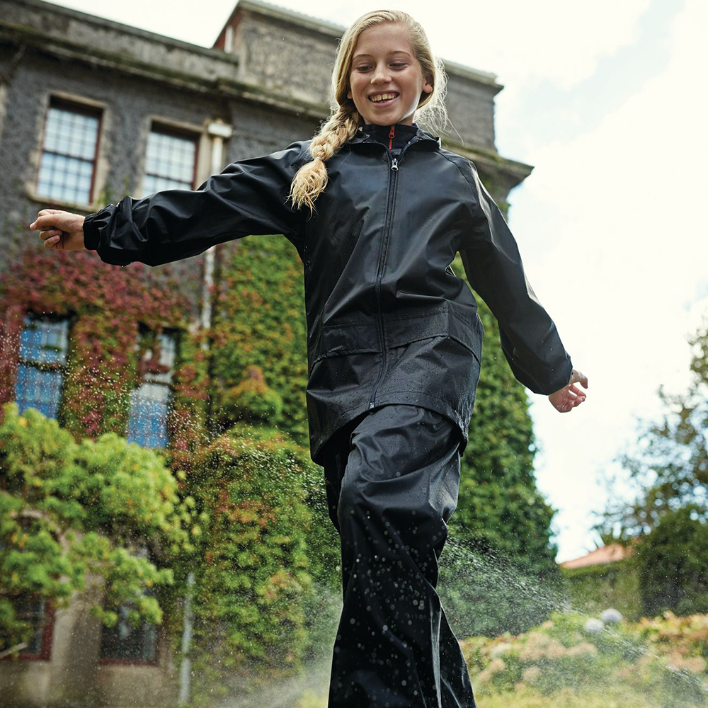 316c5d7ef Regatta Kids Stormbreak Waterproof Overtrousers W808