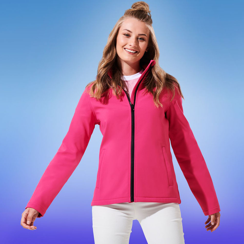 photo relating to Printable Jacket referred to as Regatta Gals Ablaze Printable Softs Jacket TRA629