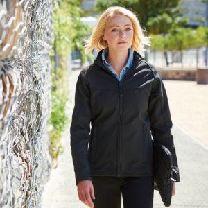 Regatta Ladies Uproar Softshell Jacket Black