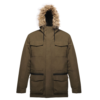Regatta Originals Ardwick Parka Jacket TRW483 Dark Khaki