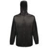 Regatta Pro Packaway Waterproof Breathable Jacket TRW248 Black
