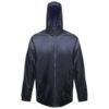Regatta Pro Packaway Waterproof Breathable Jacket TRW248 Navy Blue