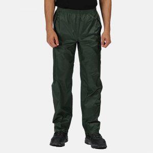 Regatta Pro Packaway Waterproof Breathable Trousers TRW348 Laurel