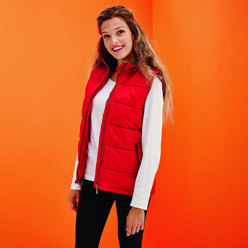 Standout Ladies Altoona Padded Bodywarmer TRA814 Regatta