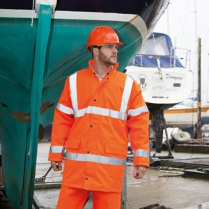Result Hi-Vis Motorway Coat RS218