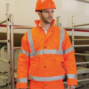 Result Hi-Vis Winter Blouson Jacket RS217