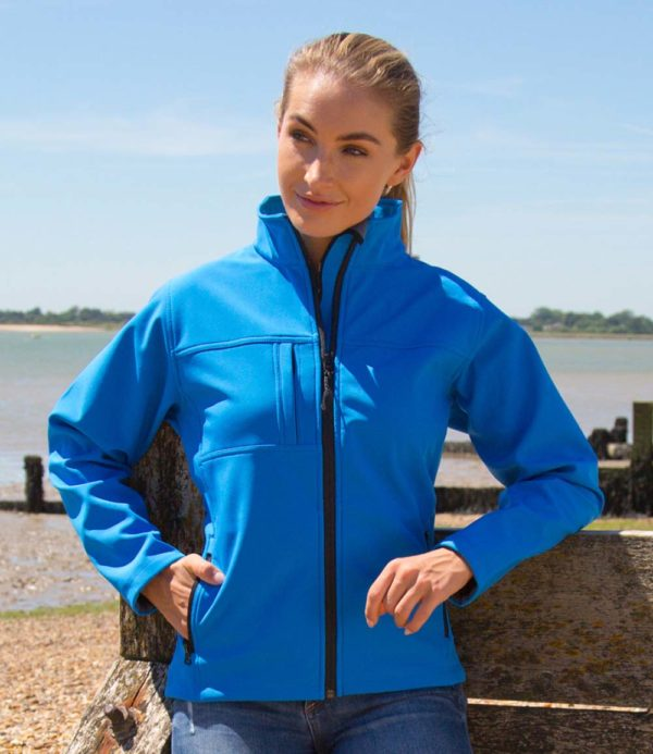 Result Ladies Classic Soft Shell Jacket RS121F