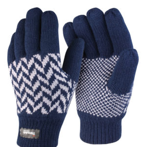 Result Pattern Thinsulate Gloves RS365