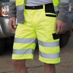 Hi-Vis Cargo Shorts RS328 Result Safe-Guard