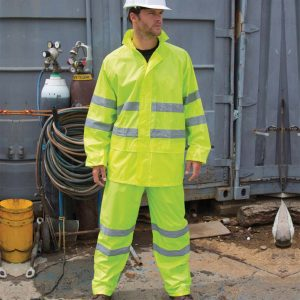 Result Safeguard Enhanced Visibility Waterproof Suit RS216