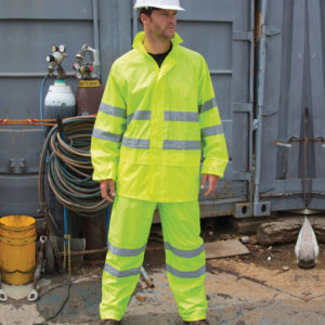 Result Safeguard Hi-Vis Waterproof Suit RS216