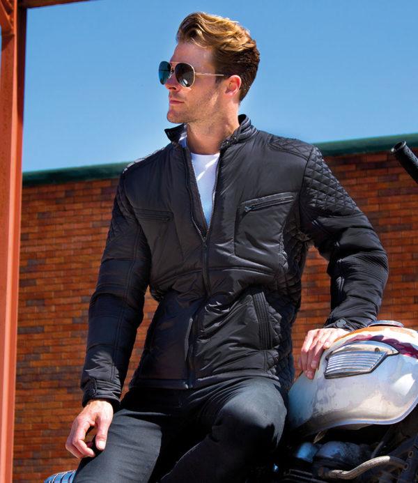 Result Urban Padded Biker Jacket RS402