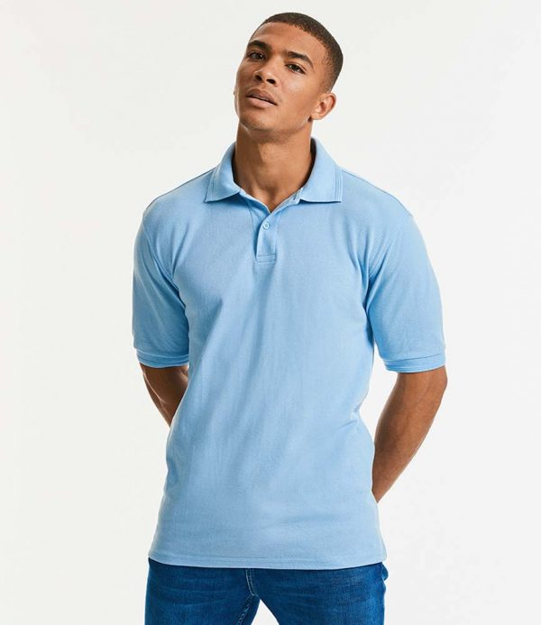 Russell Hardwearing Poly Cotton Pique Polo Shirt 599M
