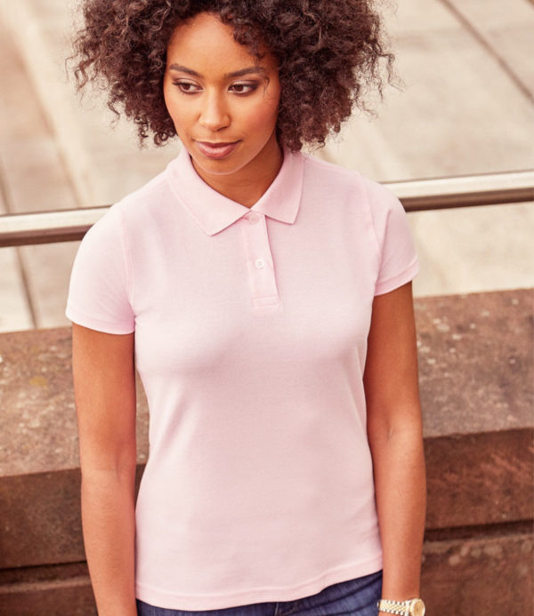 Russell Ladies Classic Cotton Pique Polo Shirt 569F