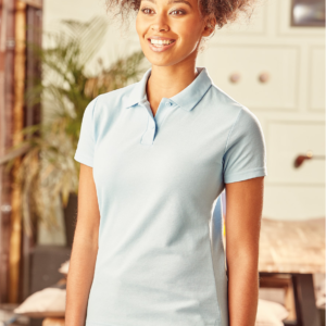 Russell Ladies Classic Pique Polo Shirt 539F Sky