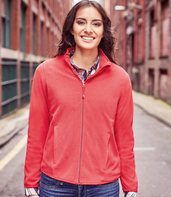 Russell Ladies Micro Fleece Jacket 883F