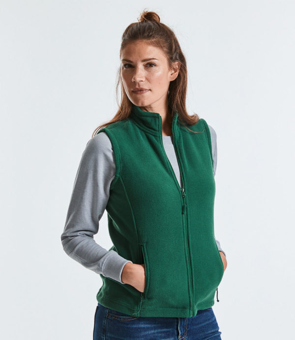 Russell Ladies Outdoor Fleece Gilet 872F