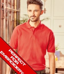 Russell Polo Perfect For Embroidery