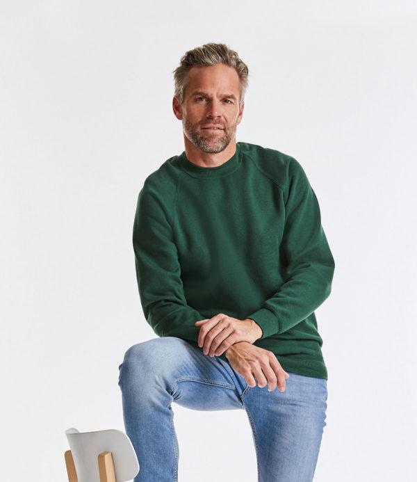 Russell Raglan Sweatshirt 762M
